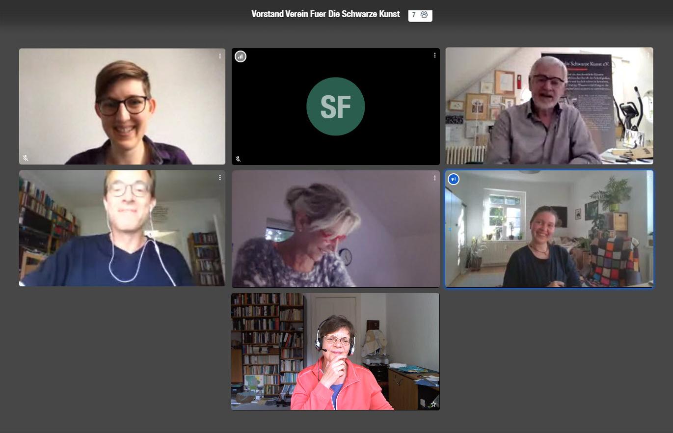 Digitale Vorstandssitzung und Beschlüsse