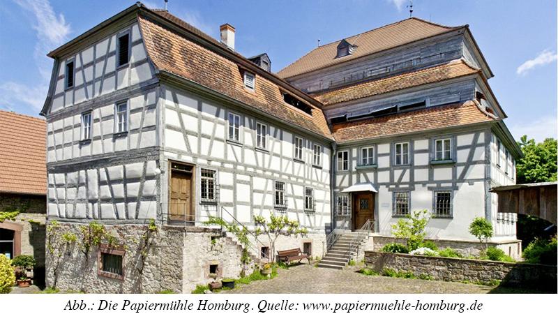 Mitgliederversammlung am 17. Oktober 2020 in der Papiermühle Homburg